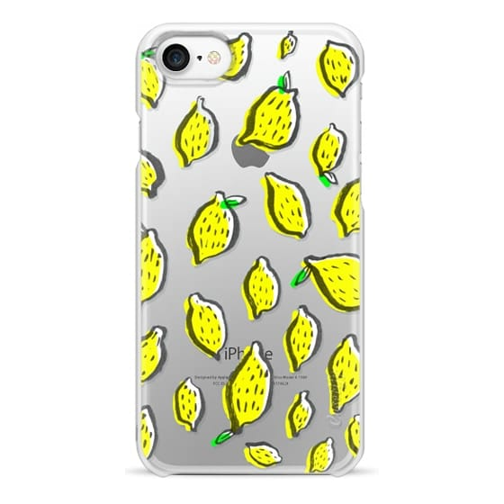 iPhone 7 Cases - Limones transparente