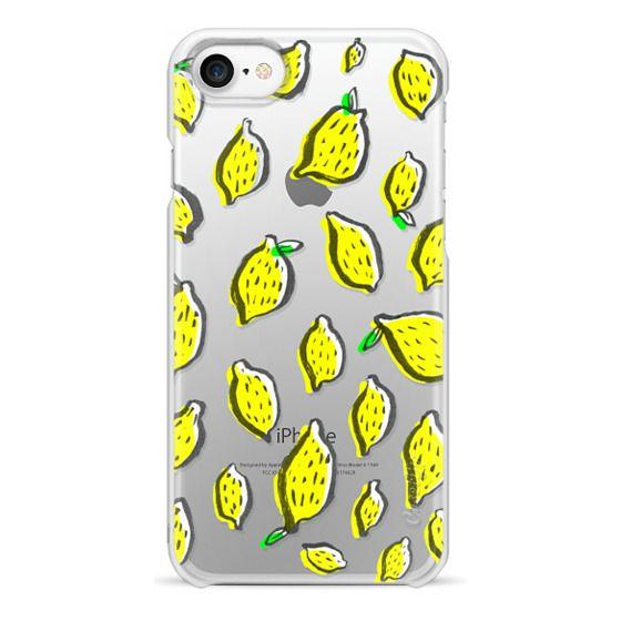 iPhone 7 Cases - Limones transparente