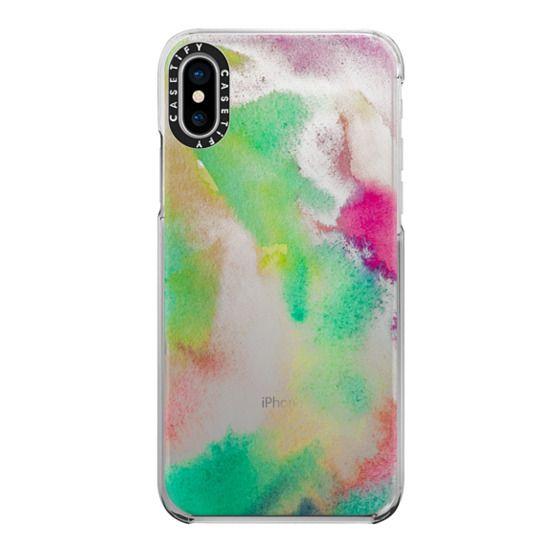 iPhone X Cases - Gaia transparente