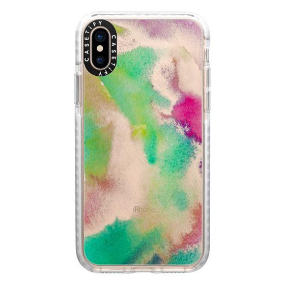 iPhone XS Cases - Gaia transparente