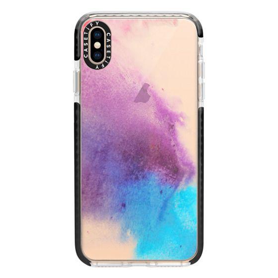 iPhone XS Max Cases - Acuarela