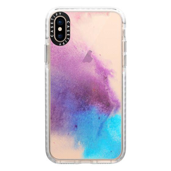 iPhone XS Cases - Acuarela