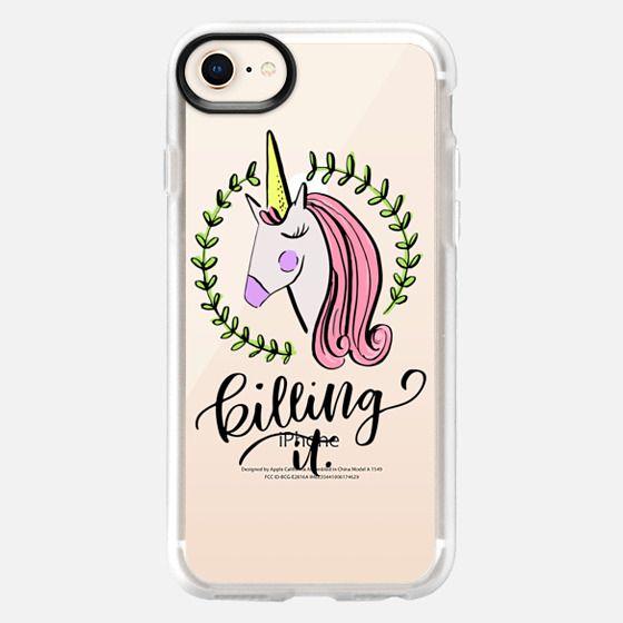 Unicorn Be Killing It - Snap Case
