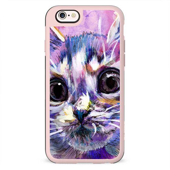 Purple Kitten