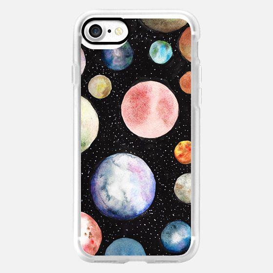 Watercolor Planet - Classic Grip Case