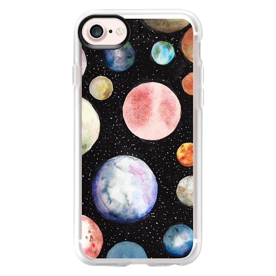 iPhone 7 Cases - Watercolor Planet