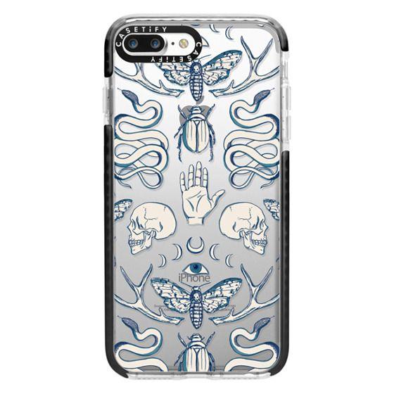 iPhone 7 Plus Cases - Magick - Blue