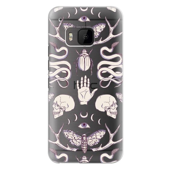 Htc One M9 Cases - Magick - Lilac