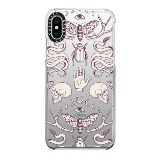 iPhone X Cases - Magick - Lilac