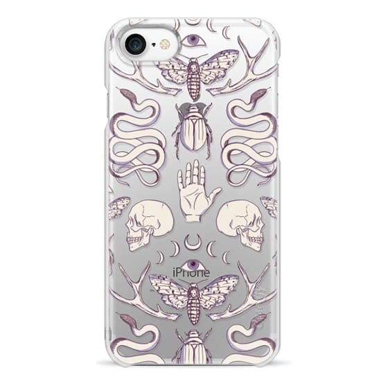 iPhone 7 Cases - Magick - Lilac
