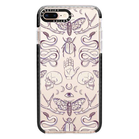 iPhone 8 Plus Cases - Magick - Lilac