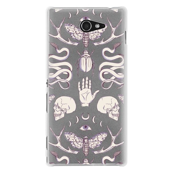 Sony M2 Cases - Magick - Lilac