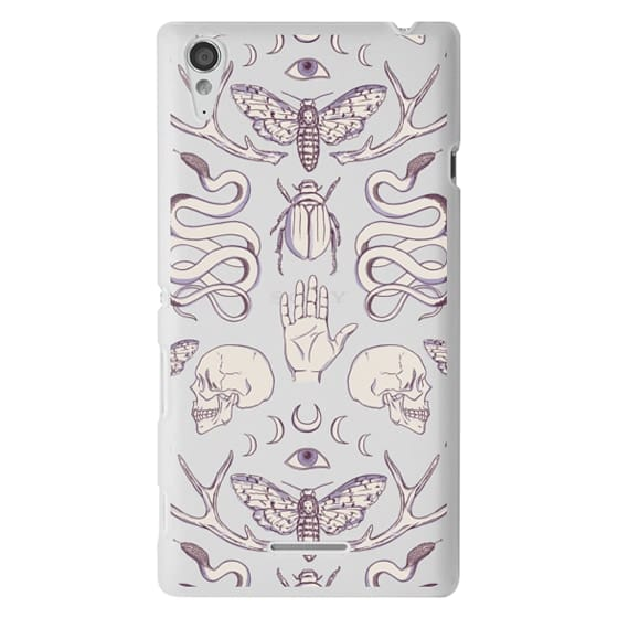 Sony T3 Cases - Magick - Lilac