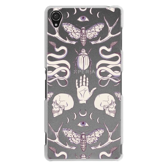 Sony Z3 Cases - Magick - Lilac