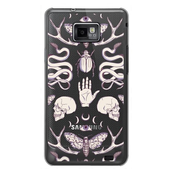 Samsung Galaxy S2 Cases - Magick - Lilac