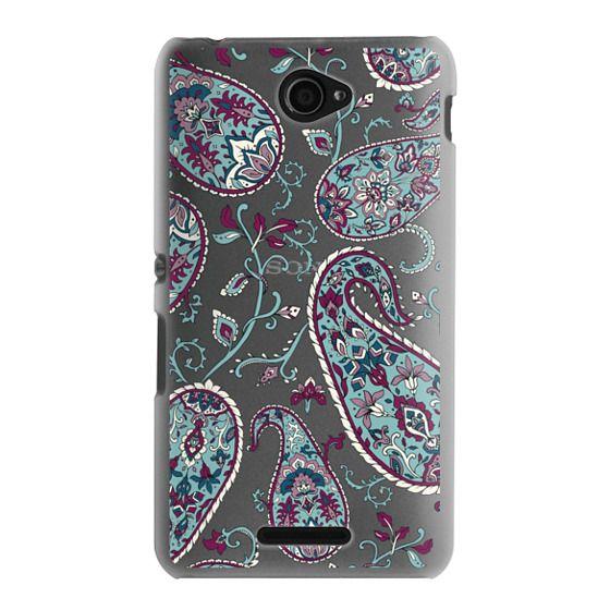 Sony E4 Cases - Paisley