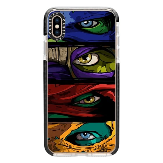 iPhone XS Max Cases - Turtle Power