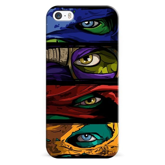 iPhone 5s Cases - Turtle Power
