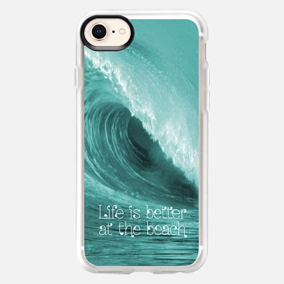 Better at the Beach - Snap Case