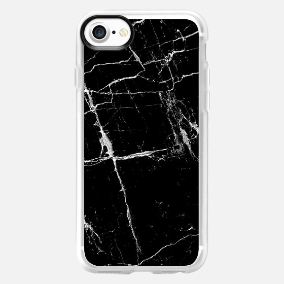 Black Marble - Wallet Case