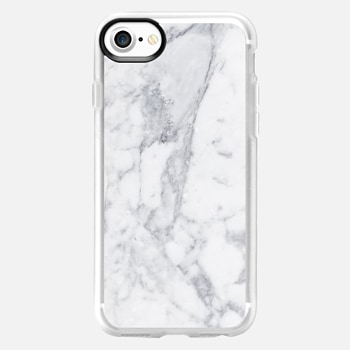iPhone 7 เคส White Marble Metaluxe Case
