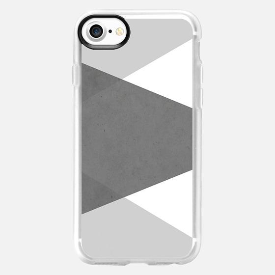 Concrete Grey Tones Metaluxe - Wallet Case
