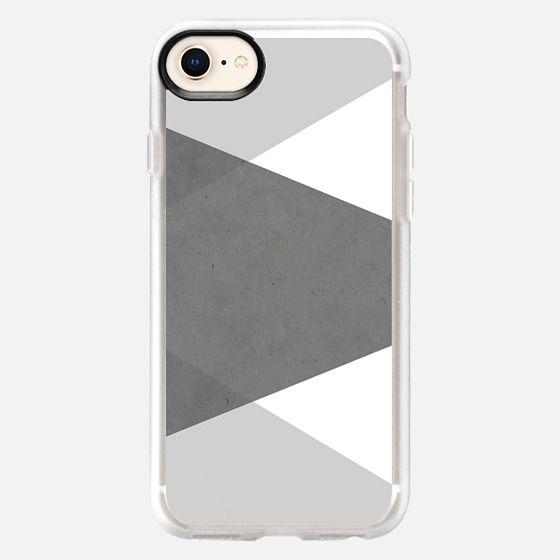 Concrete Grey Tones Metaluxe - Snap Case