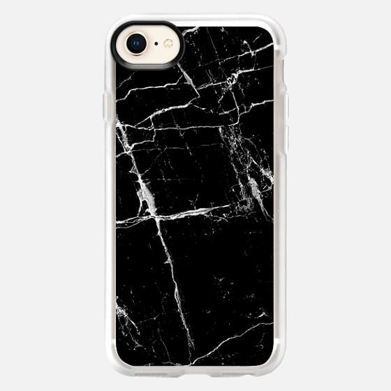 Black Marble - Snap Case
