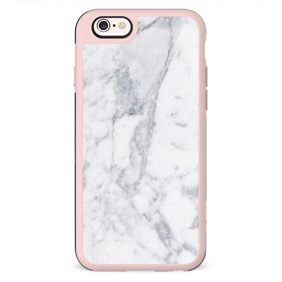 White Marble Metaluxe Case