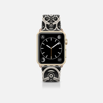 Apple Watch Band (38mm) Case Black Lace