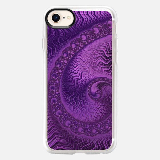 Purple Swirl - Snap Case