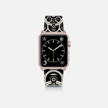 Apple Watch Band (38mm)  Black Lace