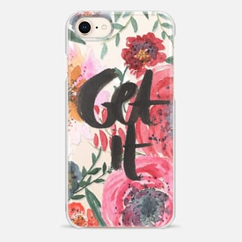 iPhone 8 Case get it floral