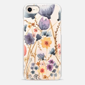 iPhone 8 Case floral field