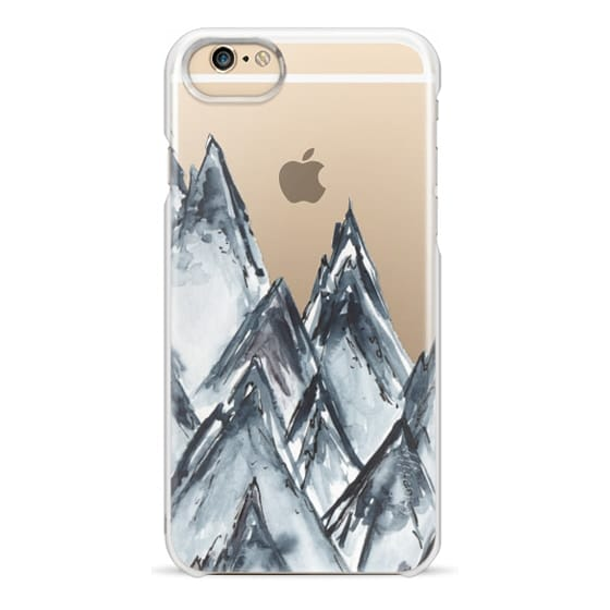 iPhone 6 Cases - mountain scape