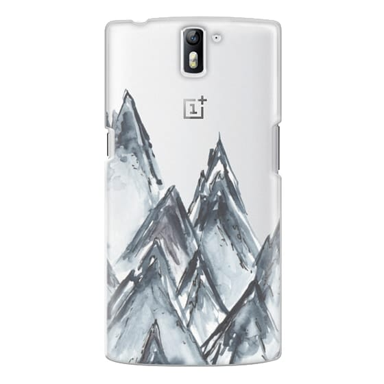 One Plus One Cases - mountain scape