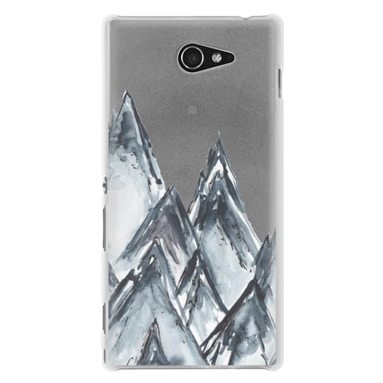 Sony M2 Cases - mountain scape