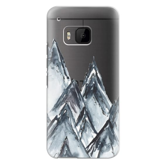 Htc One M9 Cases - mountain scape