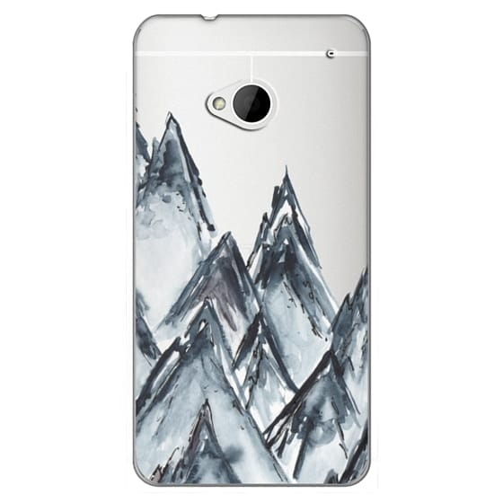 Htc One Cases - mountain scape