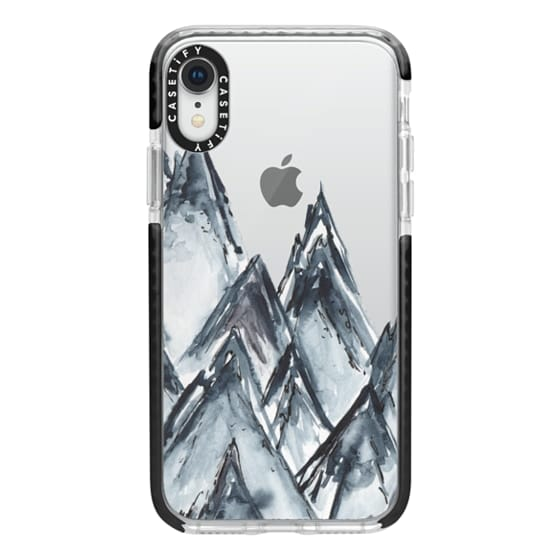 iPhone XR Cases - mountain scape