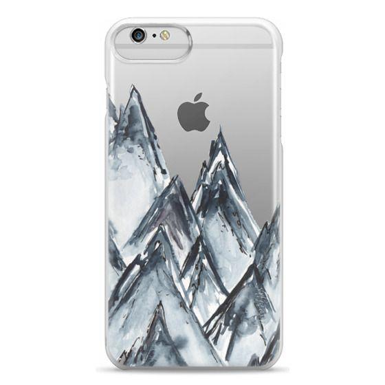 iPhone 6 Plus Cases - mountain scape