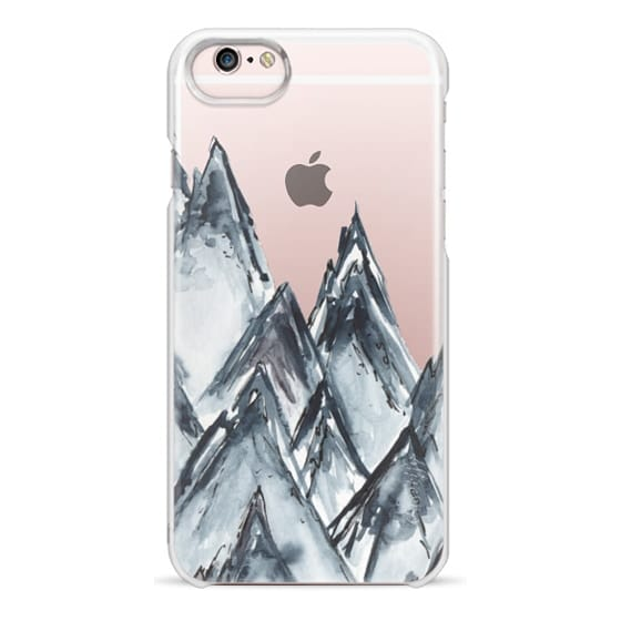 iPhone 6s Cases - mountain scape