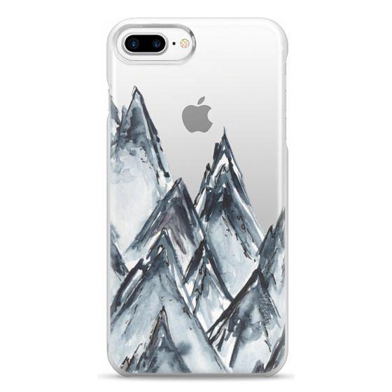 iPhone 7 Plus Cases - mountain scape