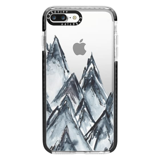 iPhone 7 Plus Cases - mountain scape