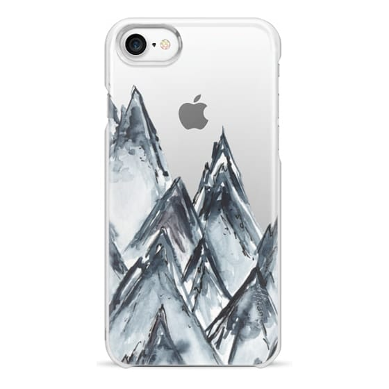 iPhone 7 Cases - mountain scape