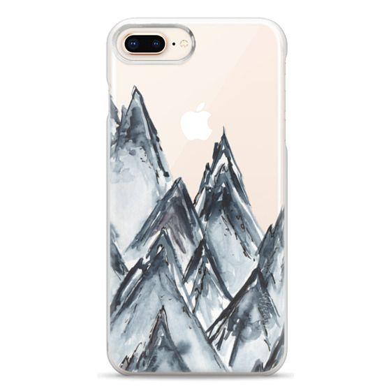 iPhone 8 Plus Cases - mountain scape