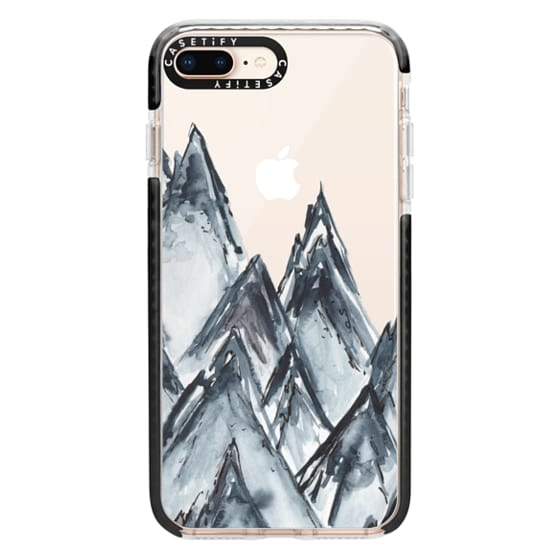 iPhone 8 Plus Cases - mountain scape