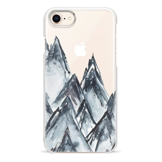 iPhone 8 Cases - mountain scape