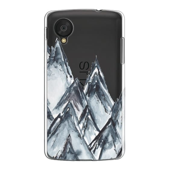 Nexus 5 Cases - mountain scape