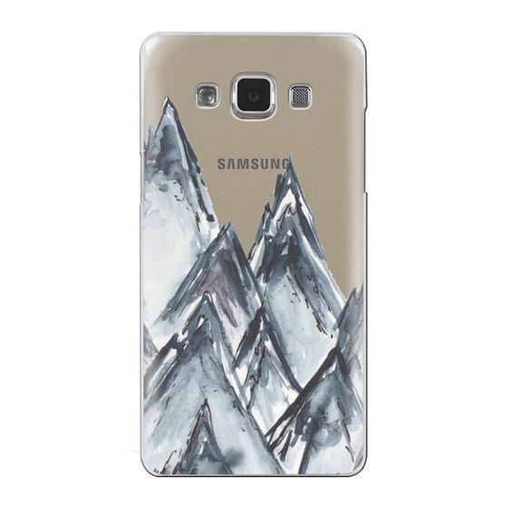 Samsung Galaxy A5 Cases - mountain scape